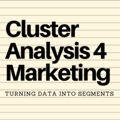 Cluster Analysis 4 Marketing